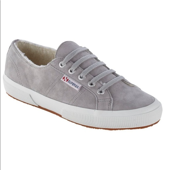 Superga Shoes   Suede Sherpa Lined